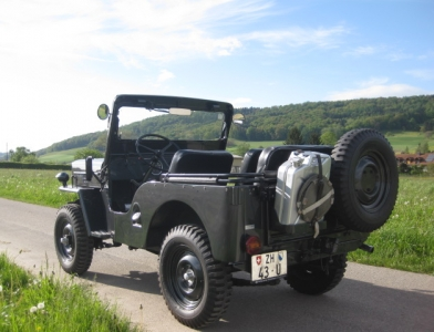 Willys Jeep Cabriolet