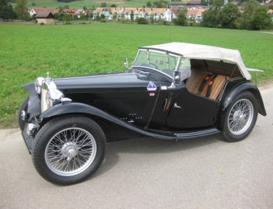 MG TC Cabriolet