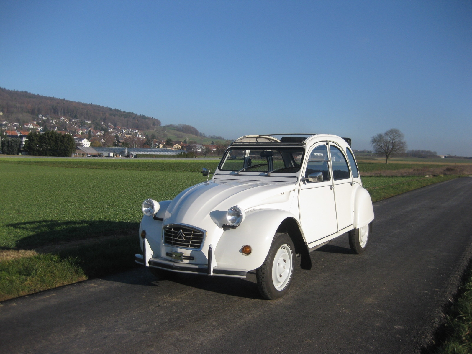 touring garage ag citroen 2 cv cabriolet 1984. Black Bedroom Furniture Sets. Home Design Ideas