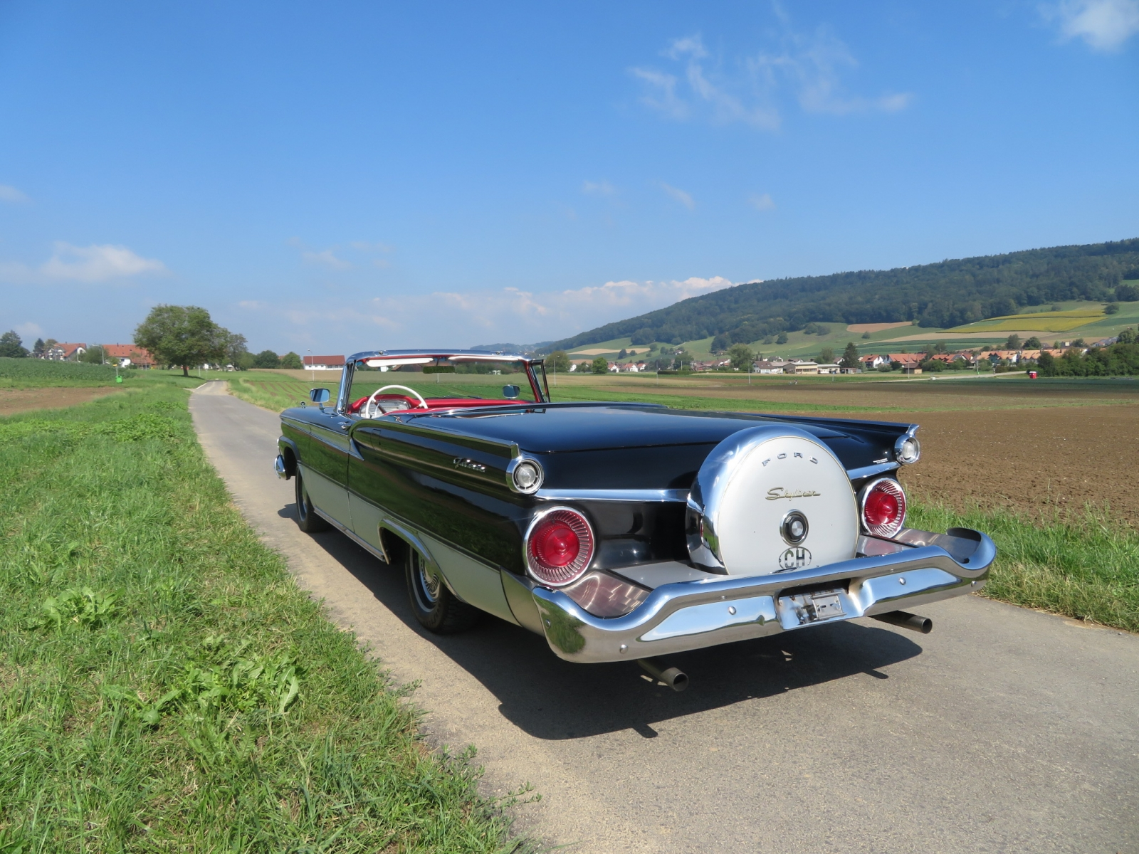 Ford (USA) Fairlane Galaxie 500 Skyliner Cabriolet