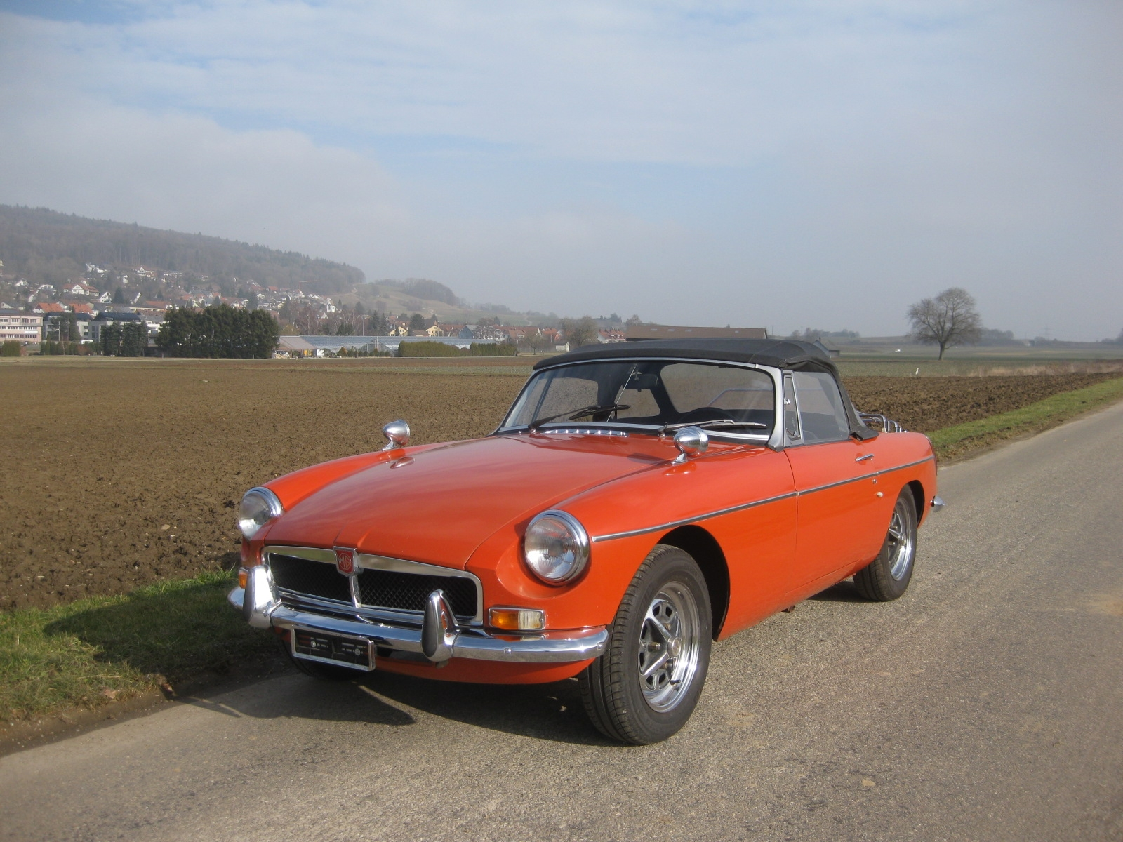 touring garage ag mg mgb cabriolet 1973. Black Bedroom Furniture Sets. Home Design Ideas