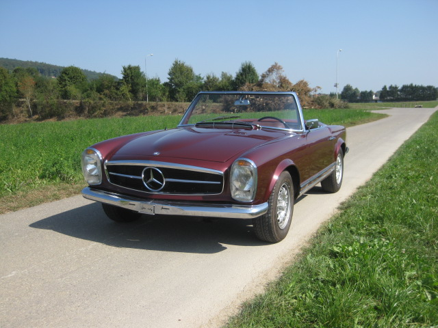 touring garage ag mercedes benz 250 sl pagode cabriolet 1967. Black Bedroom Furniture Sets. Home Design Ideas