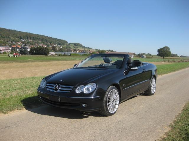 touring garage ag mercedes benz clk 500 cabriolet 2003. Black Bedroom Furniture Sets. Home Design Ideas