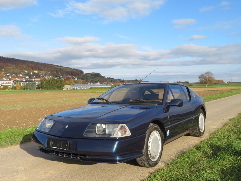 Renault Alpine V6 Turbo Coupé